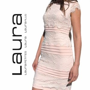 Laura Petites- formal Sheath Dress